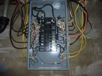 electrical panel | Home Inspections by John